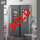 clearance item grey theatre swing door sale