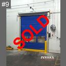 clearance item red rapid door door sale
