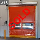 clearance item grey rapid door sale