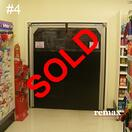 clearance item pvc swingdoor sale