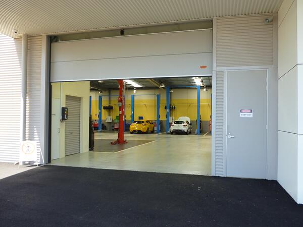 Mazda Warrnambool New Car Showroom Doors