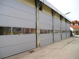 Industrial Compact Sectional Door