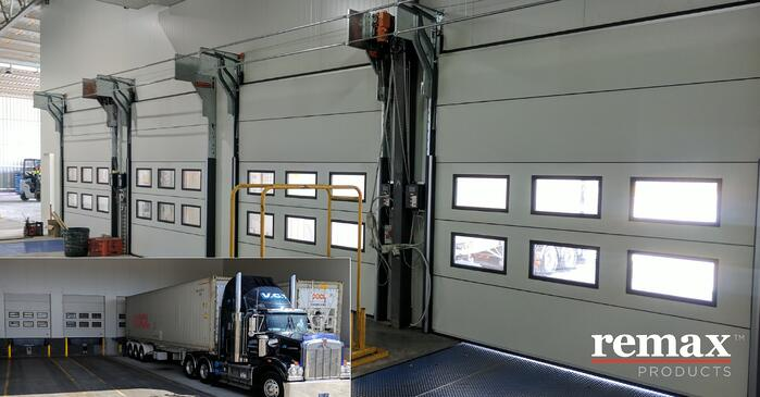 Leslie Refrigerated Transport_Compact Sectional Door