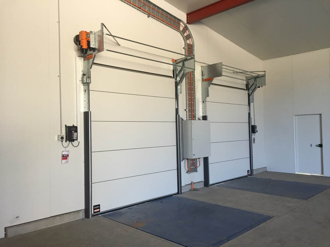 Thermal Compact Sectional Doors at Jeftomson