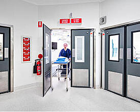 Hospital Theatre swingdoor