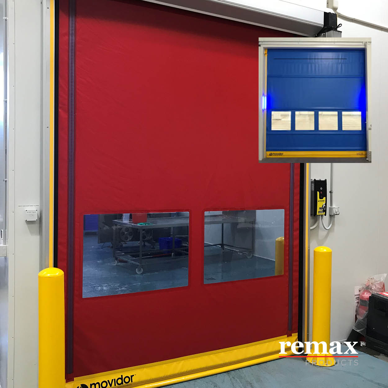 Rapid Doors in the event of electrical power failure
