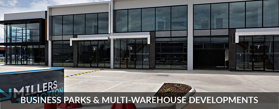 Business Parks and multi-warehouse developments