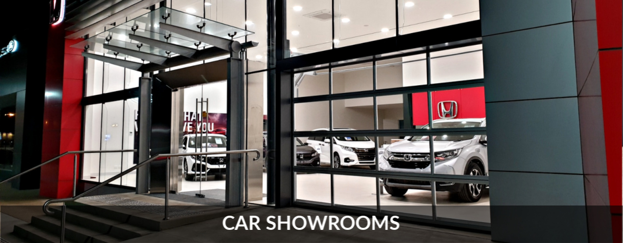 Car Showroom Remax Compact Sectional Door