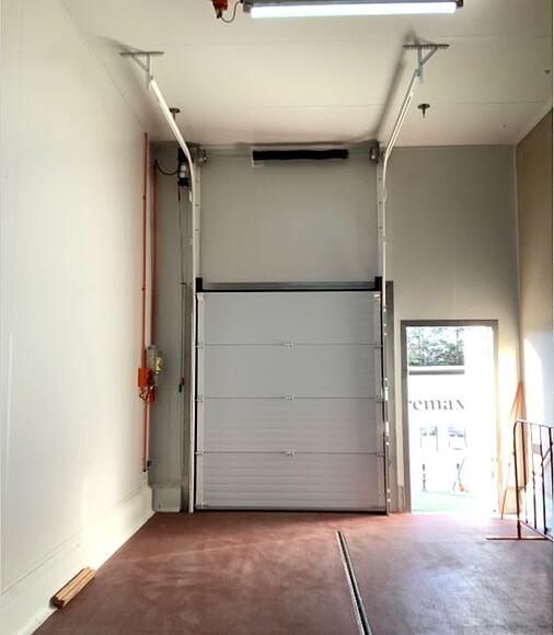 Diamond Valley Pork Sectional Overhead Door installed by Remax-2