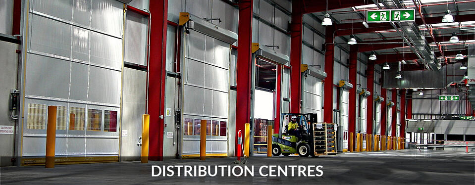 Distribution Centres Movidor High Speed Door Warehouse Access
