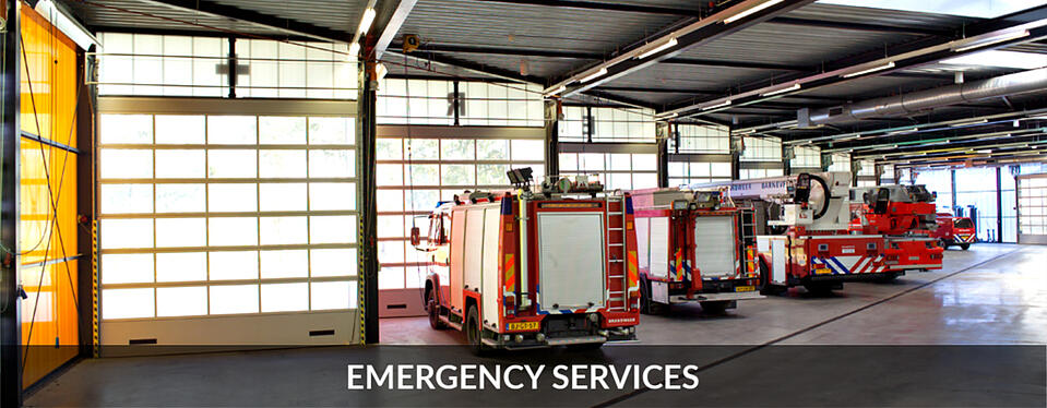 Emergency Services Compact Sectional Doors