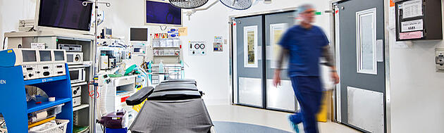 Hospital Theatre Doors for hygiene control in operating theatre