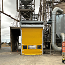 Movidor High Speed Door for Grain Pit Dust Control-1