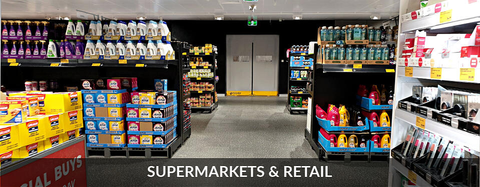 Movidor High Speed Door for Supermarket and retail sector