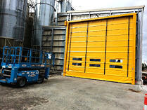 Movidor High Speed Folding Door for Grain Pit