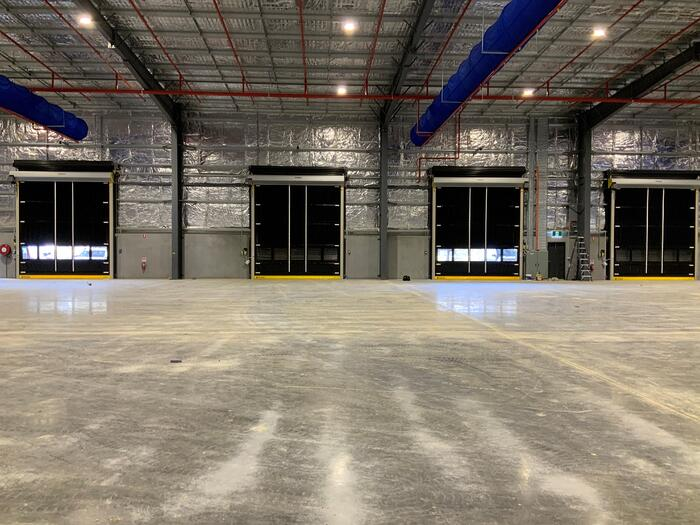 Movidor high speed doors installed at Lightning Source