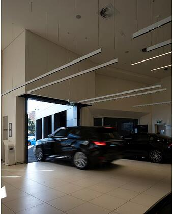 Remax Compact Sectional Door for car dealership sydney NSW 1