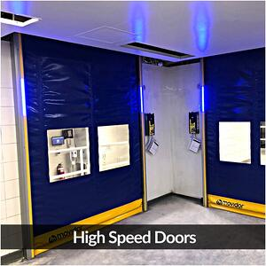 Remax Doors Movidor high speed roller doors