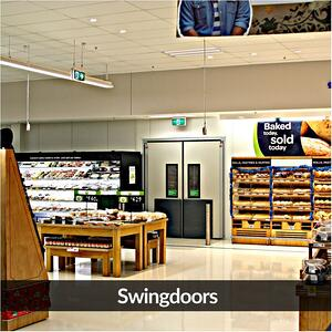 Remax Doors high impact Swingdoors