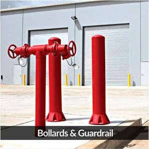 RemaxRemax Doors Poly Bollard Barrier system