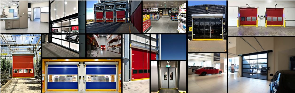 Remax Doors - High speed doors project range