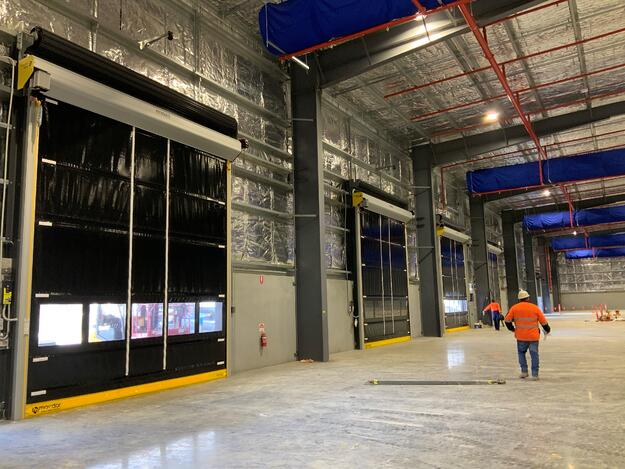 Temperature control doors installed at Lightning Source