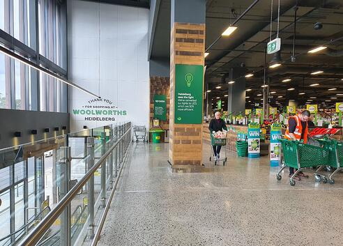 high impact low maintenance supermarket swingdoors