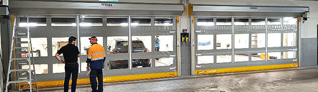high speed doors for hospitals
